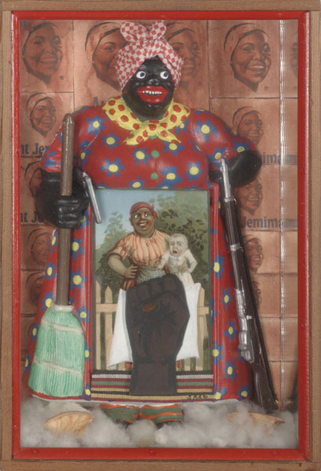Betye Saar (American, born 1926) The Liberation of Aunt Jemima, 1972