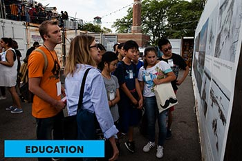 Education at Photoville 2019
