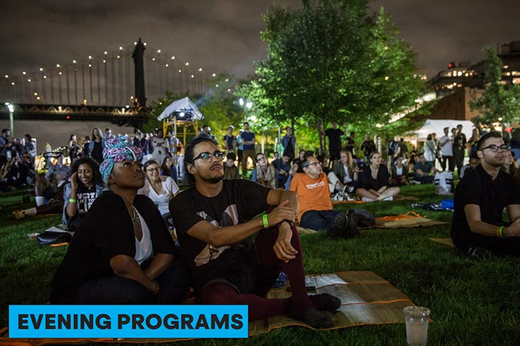 Evening Programs at Photoville 2019