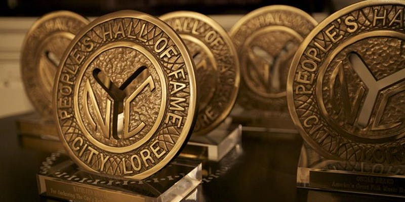 Taking as its symbol an historic New York subway token, The People's Hall of Fame is an awards celebration honoring grassroots contributions to New York's cultural life.