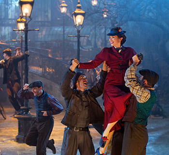 March 30th for a free screening of Mary Poppins Returns!