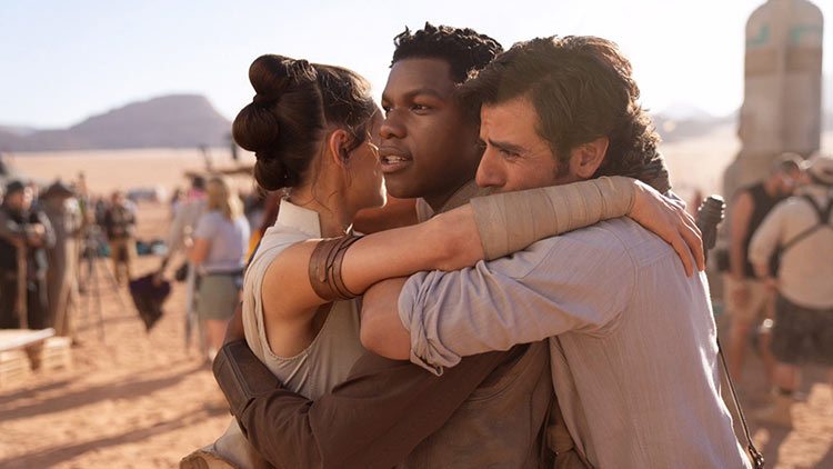 It feels impossible, but today wrapped photography on Episode IX.