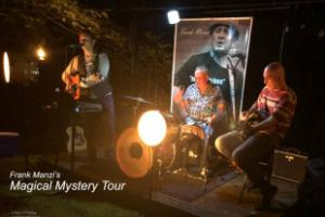 Frank Manzi's Magical Mystery Tour at Wayne & Tonja Smith's Magical Backyard Forest in Morganton, NC. ©Mark D Phillips